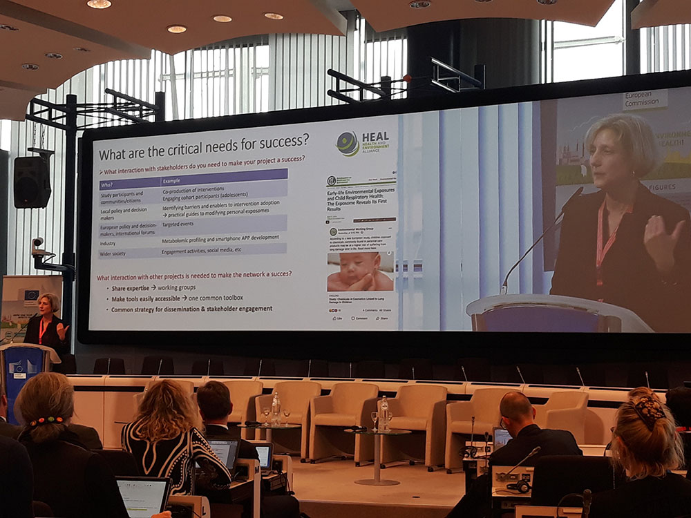 Launch event of the European Human Exposome Network